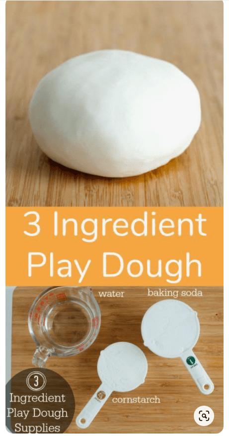 How to create playdough