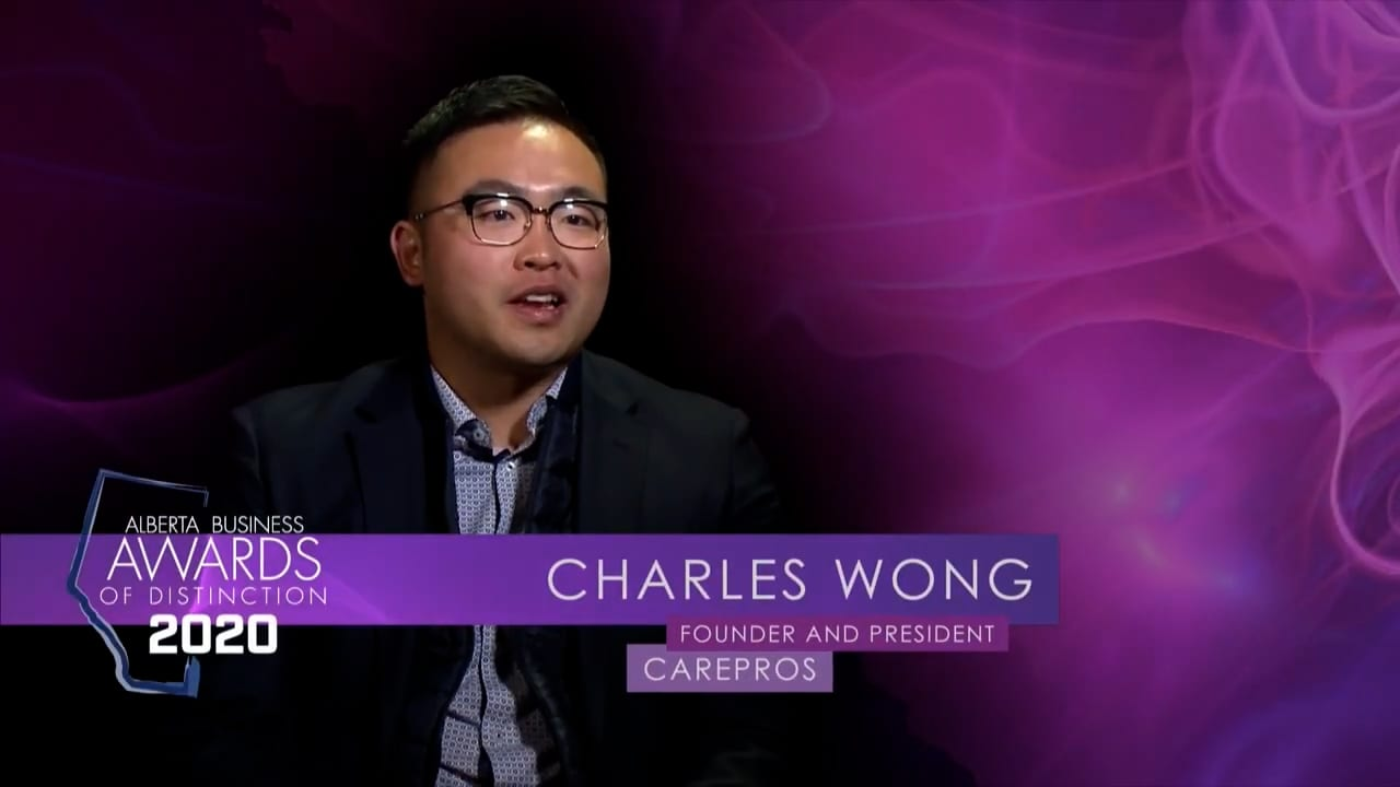 CarePros' Charles Wong Wins Young Entrepreneur Award of Distinction