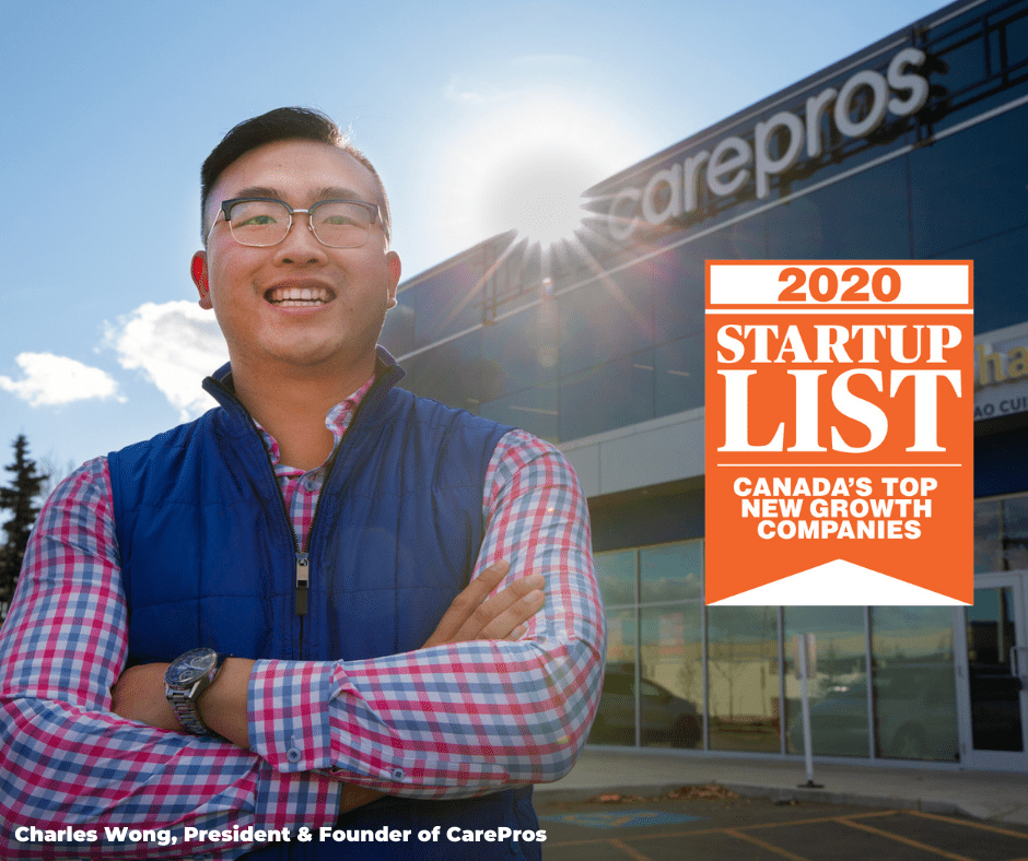 CarePros Ranks No. 13 on Canadian Business 2020 Growth List!